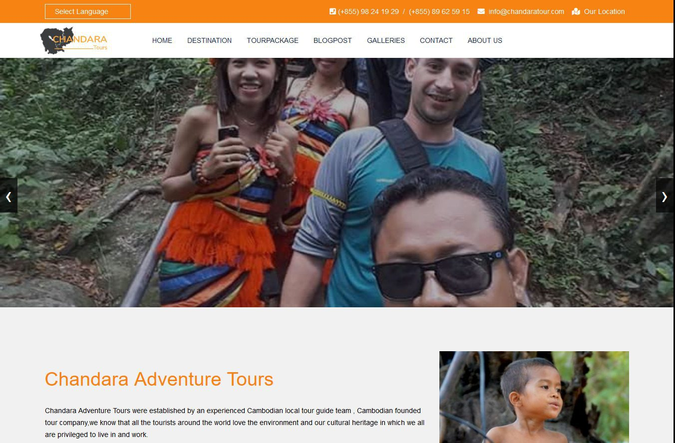 Screenshot 2019 07 17 Chandara Adventure Tours Just Another WordPress Site
